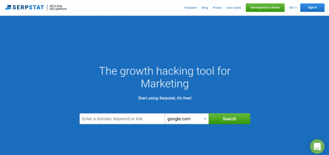 Serpstat Review -best keyword research tool