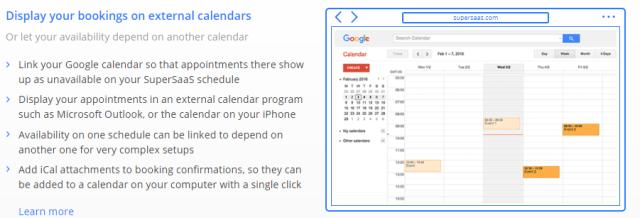 SuperSaas Review- Cross calendar