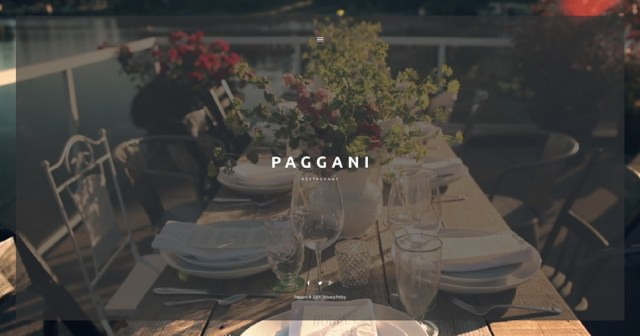 WordPress Template for Any Kind of Restaurant