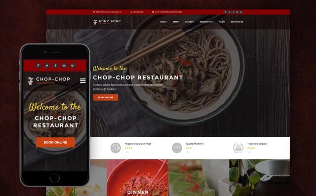 Asian Restaurant WordPress Theme