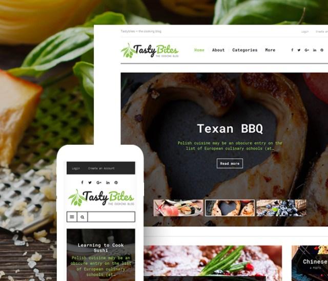 Cooking Blog WordPress Theme