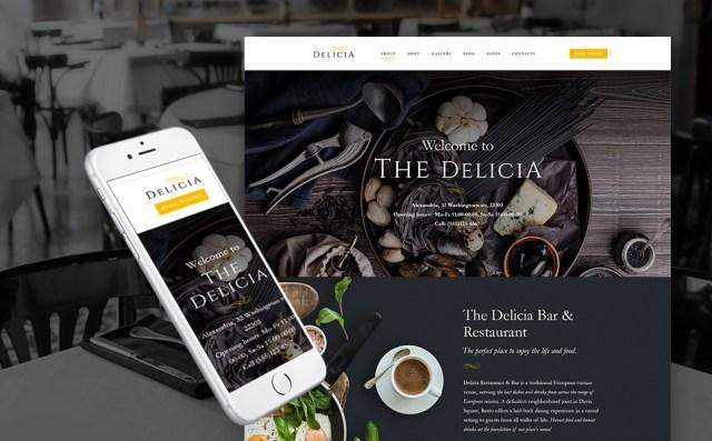 Luxury Restaurant WordPress Theme