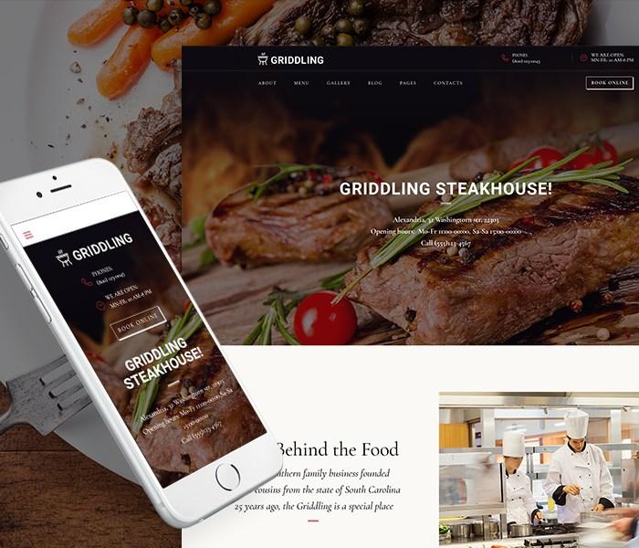Barbecue Restaurant WordPress Theme