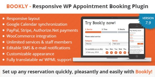 Bookly – Book Appointments, Book Services
