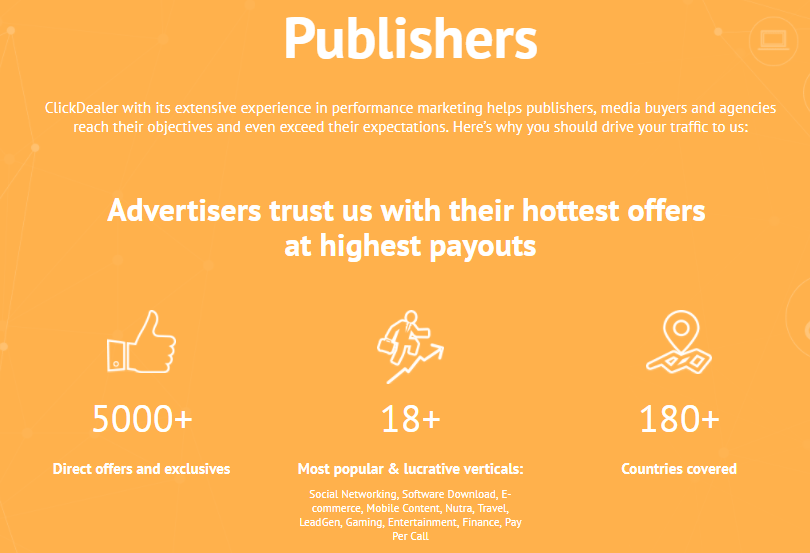 ClickDealer Review - Publishers