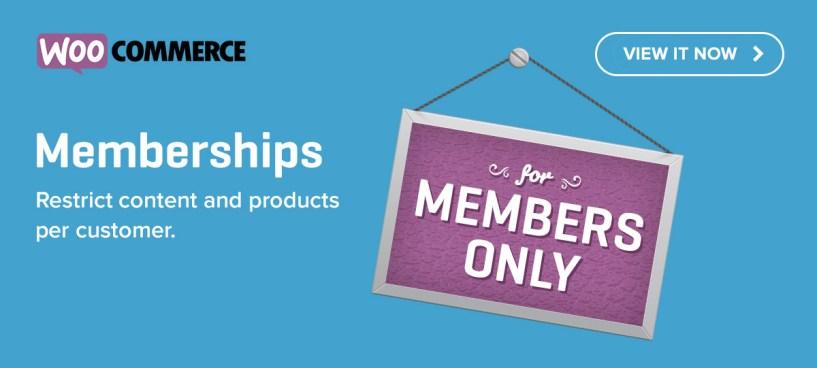 Introducing WooCommerce Memberships