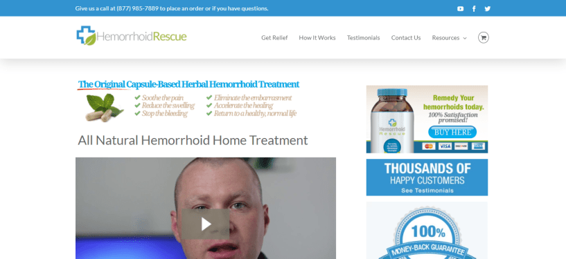 Health Affiliate Program - Hemorrhoid Rescue