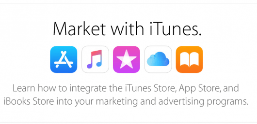 Market with iTunes Apple