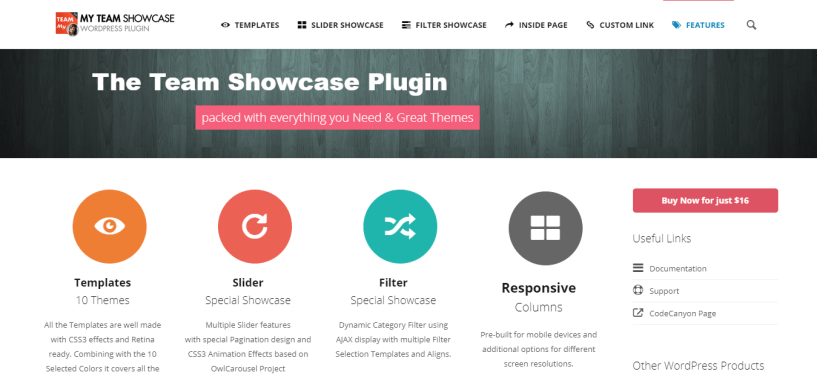 My Team Showcase - WordPress Management Plugin