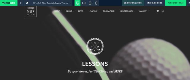 N7 - WordPress Sports Theme