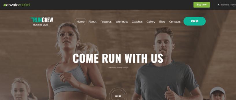 RunCrew Running Club Marathon - WordPress Sports Theme