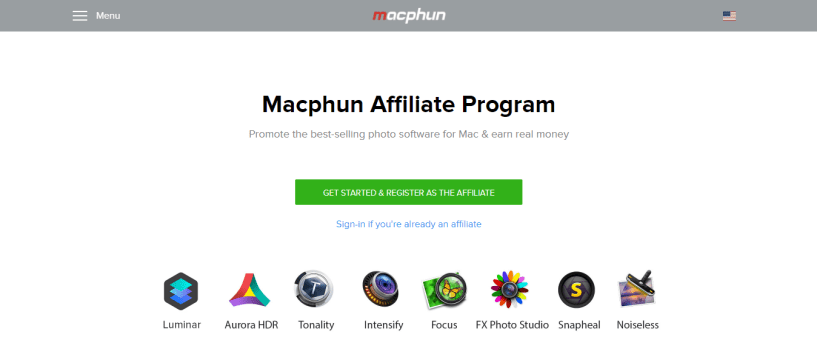 Software Affiliate Program - Macphun