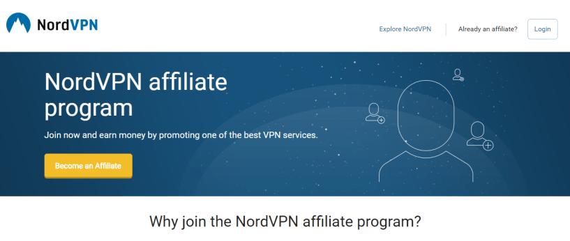 VPN Affiliate Program - NordVPN