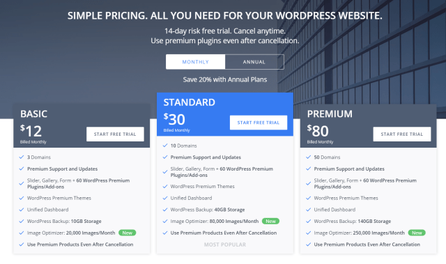 10web Review - Plans and Pricing