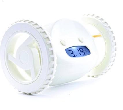 Clocky Robotic Alarm Clock for heavy sleepers