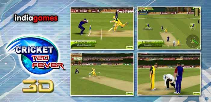 Cricket Fever 3D- Free Cricket Games