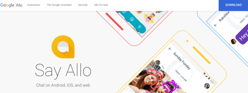 Google Allo- Best Texting Apps