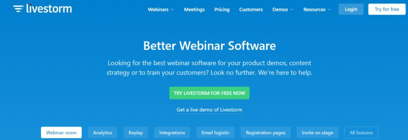 Livestorm - Better Webinar Software