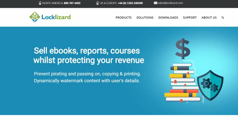 LockLizard Review - Document Security Tool