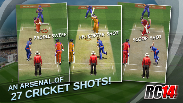 Real Cricket 17- Free Cricket Games