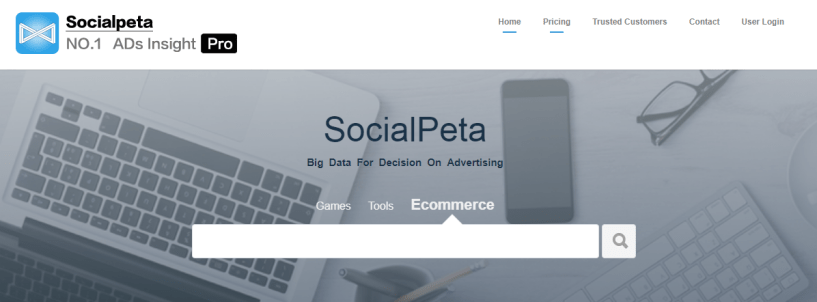 SocialPeta- Facebook Ads Spy Tools