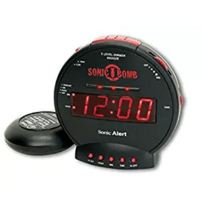 Sonic Bomd With Super Shaker- Alarm Clocks