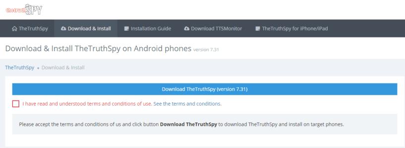 TheTruthSpy- Facebook Messenger Spy Apps