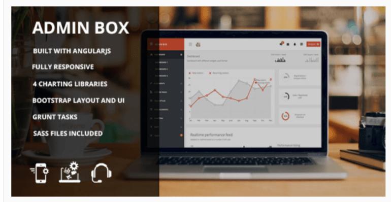 Admin box - WordPress Admin Themes