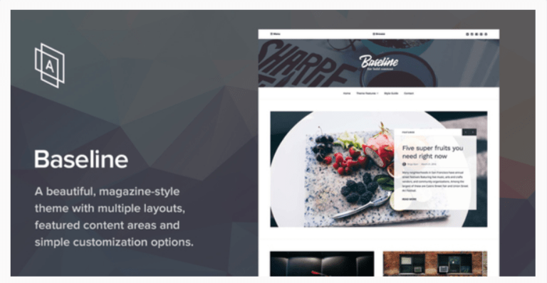 Baseline- WordPress Blog Themes