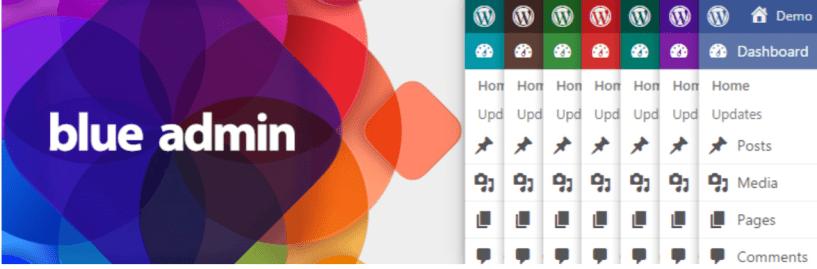 Blue Admin — WordPress Admin Themes