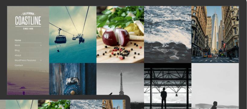 Coastline -Photography WordPress Themes