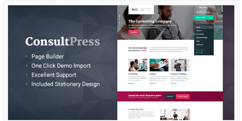ConsultPress - WordPress Business Themes