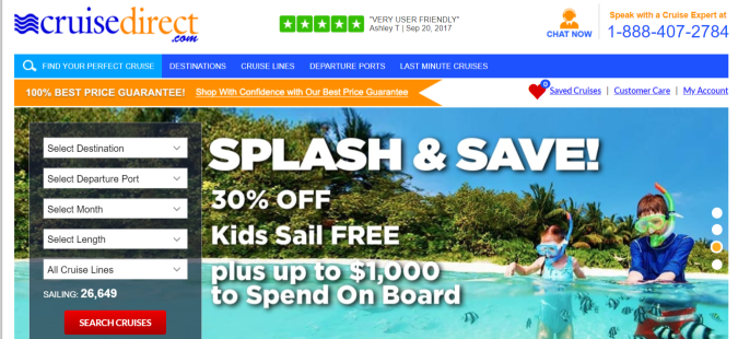 Cruise Direct- Affiliate Programs