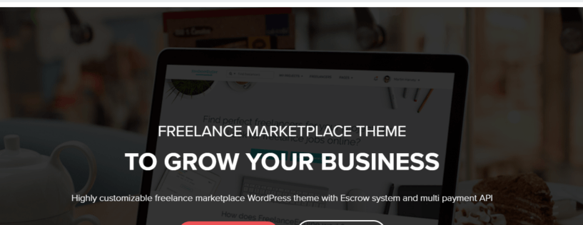 FreelanceEngine - Marketplace WordPress Themes