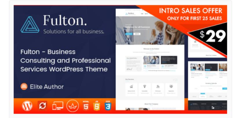 Fulton- WordPress Business Themes