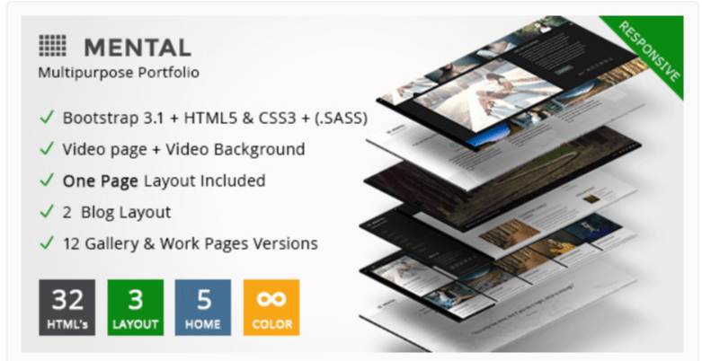 Gallery Mental - Photography WordPress Themes