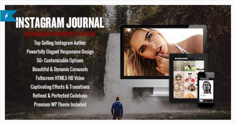 Instagram Journal- WordPress Instagram Plugins