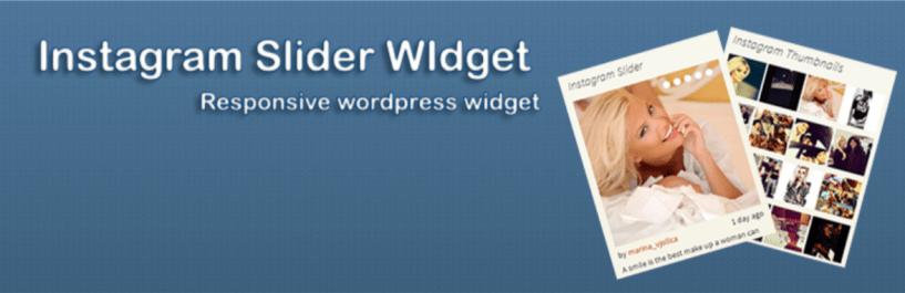 Instagram Slider Widget — WordPress Instagram Plugins