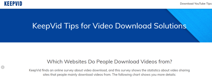 KeepVid - Facebook Video Downloader