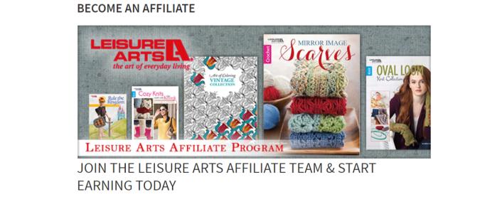Leisure Arts- Art Affiliates Programs
