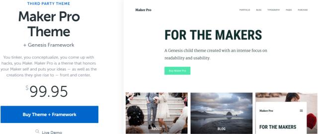 Maker Pro- WordPress Blog Themes