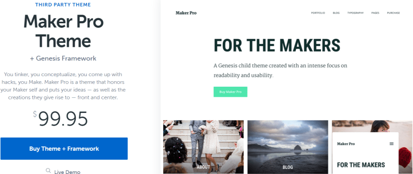 Maker Pro- WordPress Blog Themes