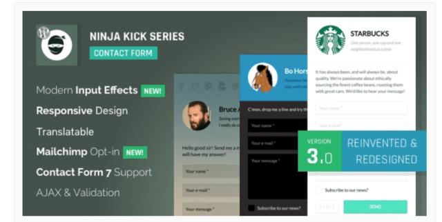 Ninja Kick WordPress Email Marketing Plugins