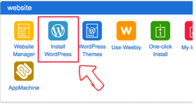 cPanel- Create a Website With WordPress