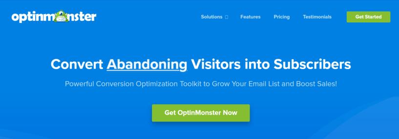 OptinMonster - WordPress Email Marketing Plugins