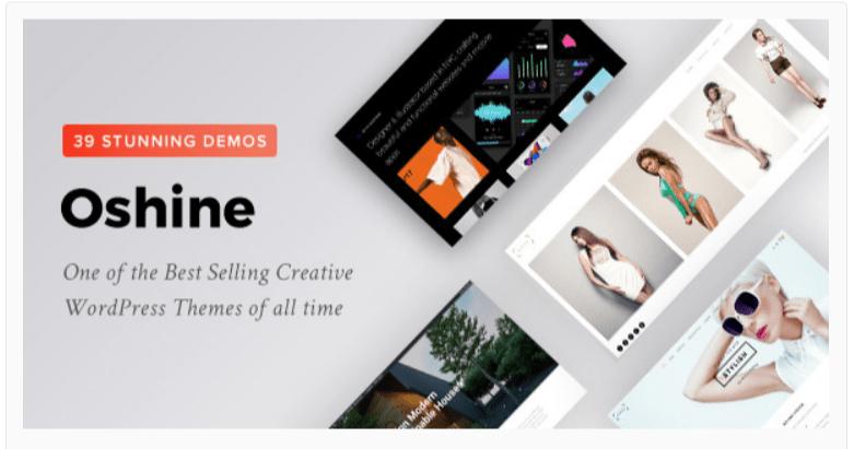 Oshine Photography WordPress Themes