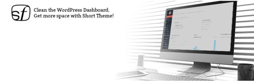 SHIFT Short WP Admin Theme — WordPress Admin Themes