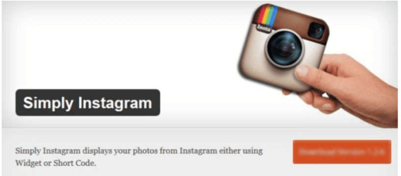 Simply Instagram- WordPress Instagram Plugins