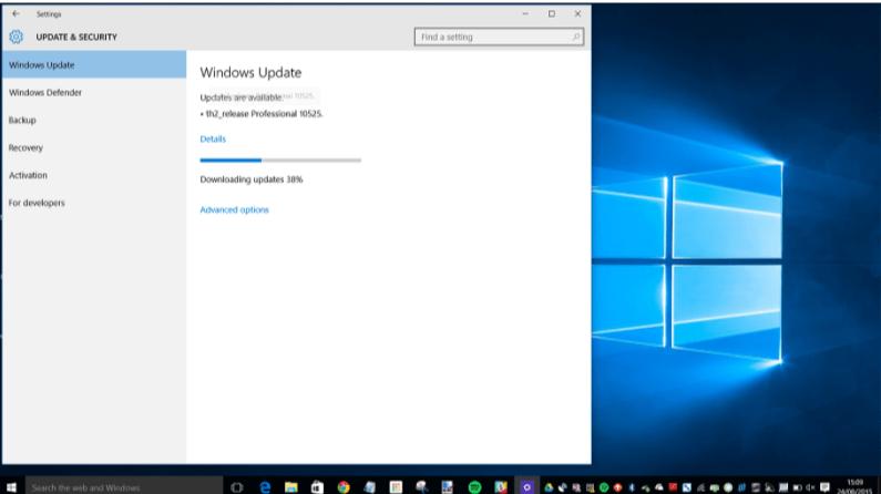 Updating Windows- Fix Windows 10 update