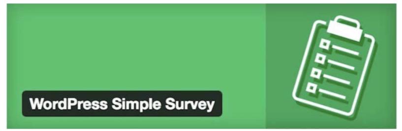 WordPress Simple Survey- Best WordPress Quiz Plugins